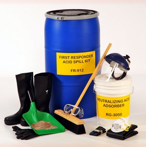 FIRST RESPONDER™ Acid Spill Kit FR-912
