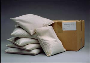 Neutralizing and absorbing pillows