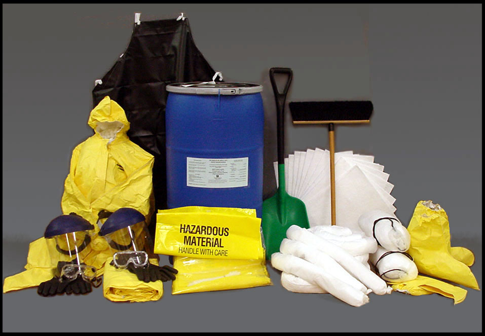 FIRST RESPONDER™ PETROLEUM SPILL KIT FR-911-PSSP