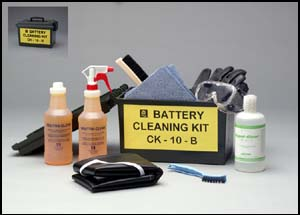 Battery Cleaning Kit CK-10-B