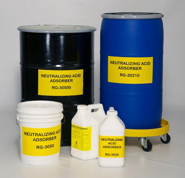 Neutralizing Acid Adsorber