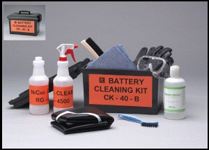 Ni-Cd BATTERY CLEANING KIT CK-40-B