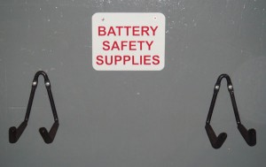 BATTERY SAFETY SUPPLY RACK BSSR-1A