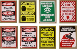 Battery Room Safety Signs